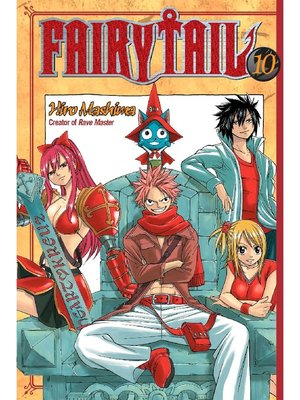 cover image of Fairy Tail, Volume 10